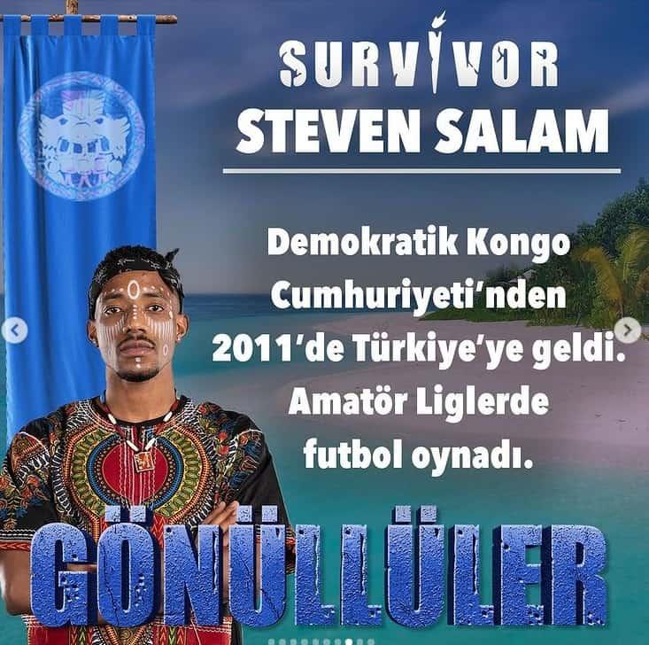 survivor 2021 steven salam