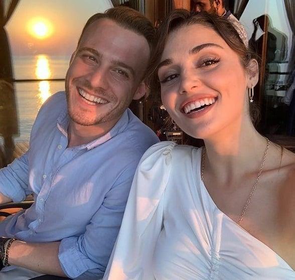 Hande Erçel ve sevgilisi Kerem Bürsin