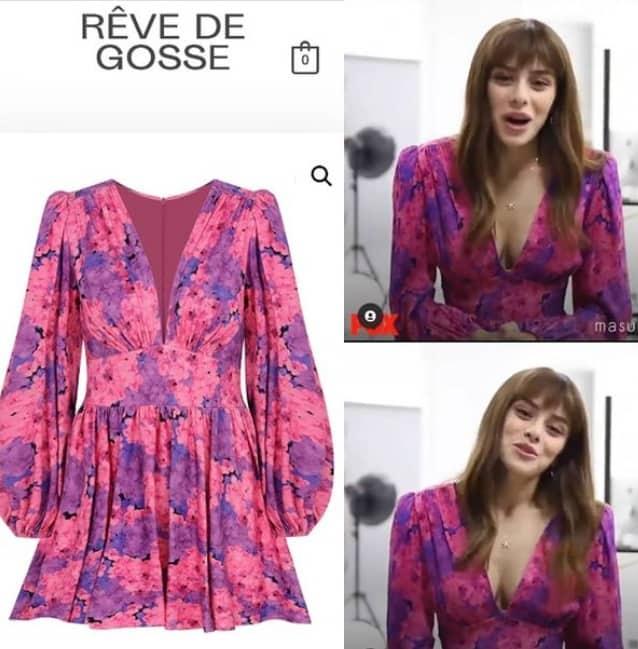 Masumiyet Dizisi Ela'nın renkli elbisesi markası fiyatı