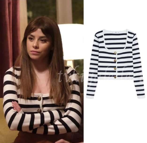 Masumiyet dizisinde Ela'nın giydiği Hırka