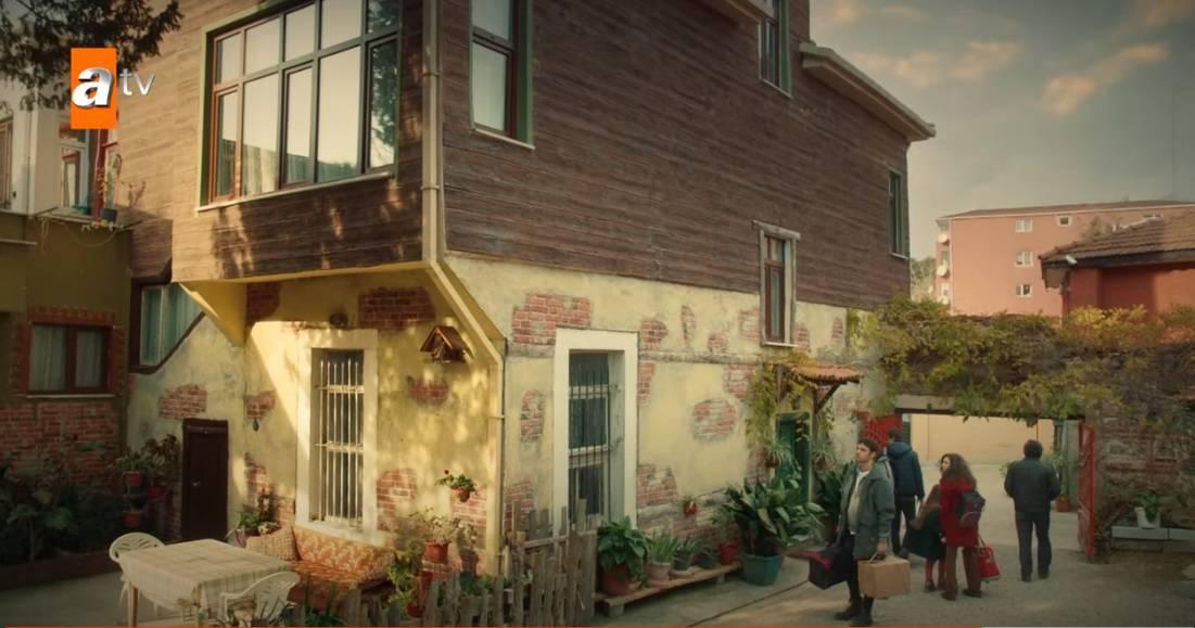Kardeslerim dizisindeki ev Istanbul Balat