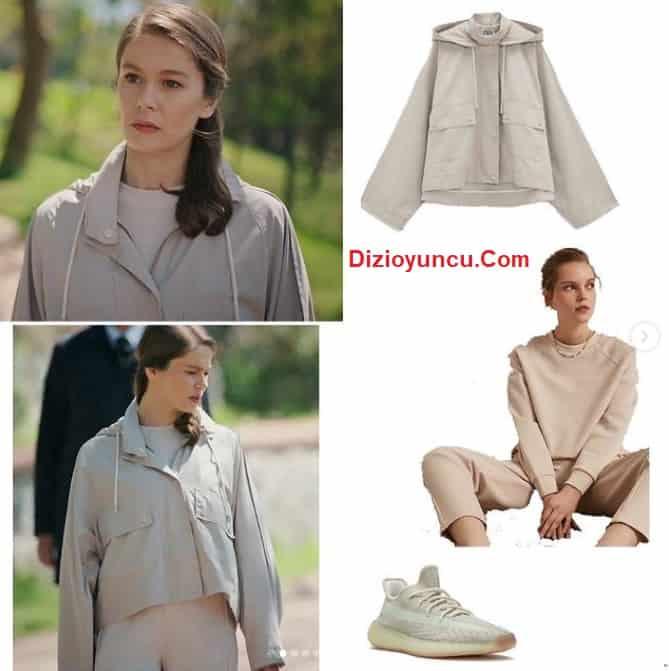29 Nisan Camdaki Kız 4. bölümde Nalan'ın giydiği spor kıyafet ayakkabı