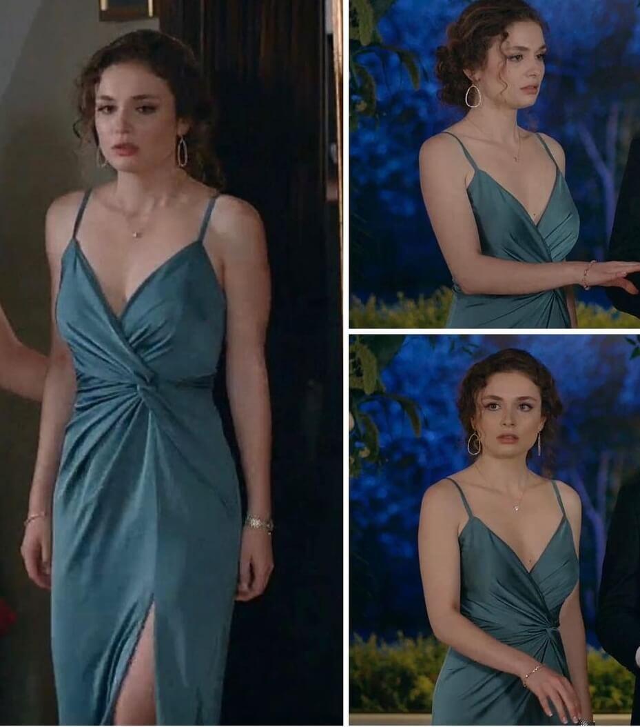 Aşkın tarifi Nazın son bölüm giydiği elbise