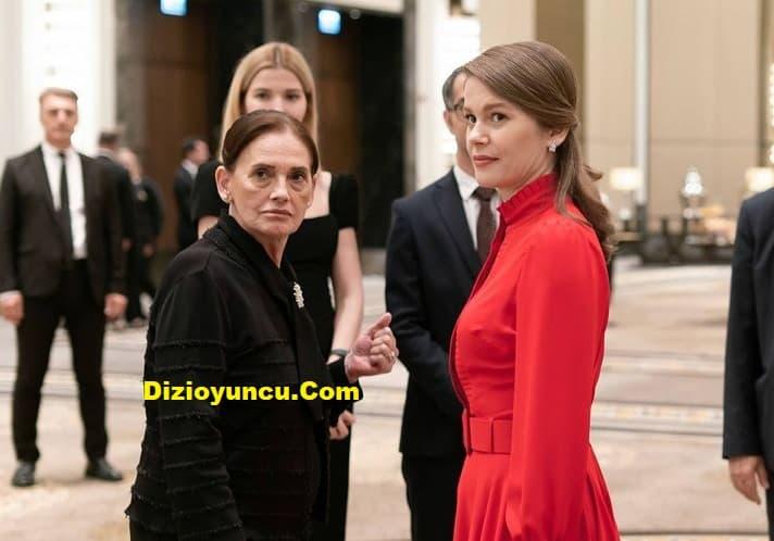 Camdaki kız dizisi sezon finali Nalan'ın kırmızı elbisesi