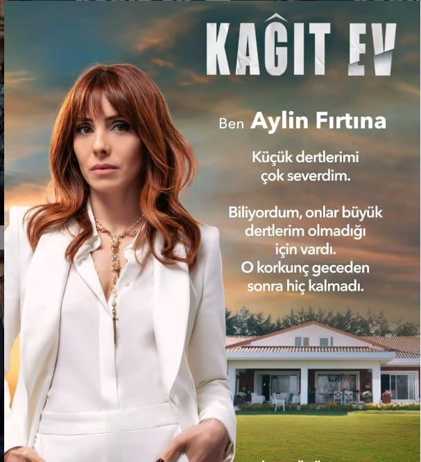 Kagit Ev dizisi Aylin Firtina