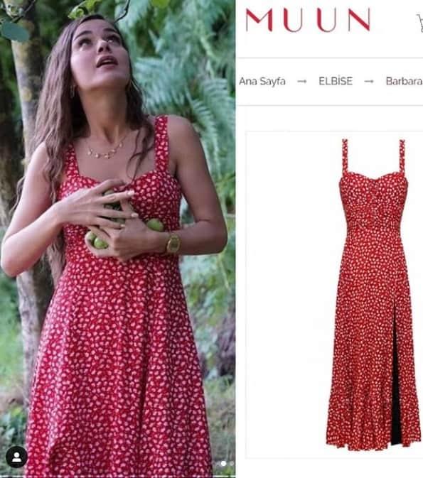 14 Temmuz Cam Tavanlar dizisi Leylanın kırmızı elbisesi