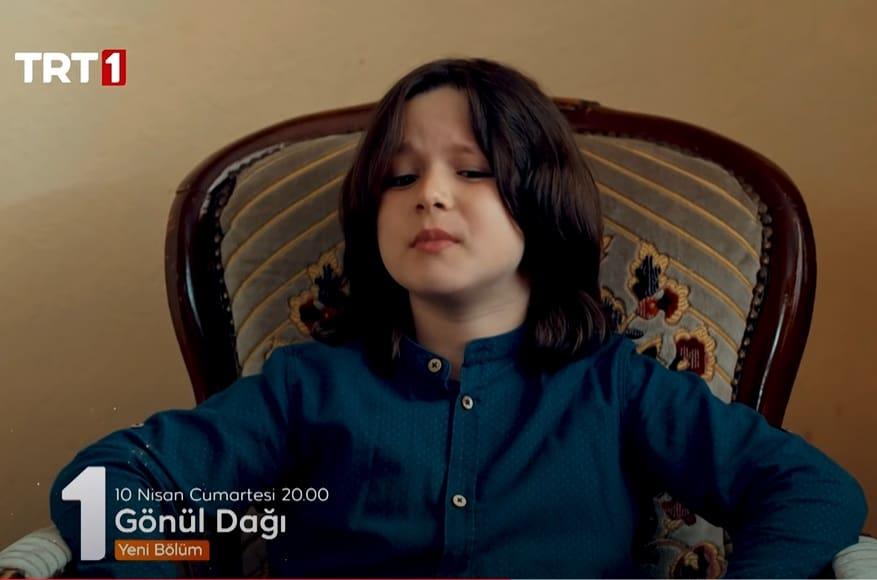 Gönül Dağı dizisi Alper Tunga çocuk oyuncu