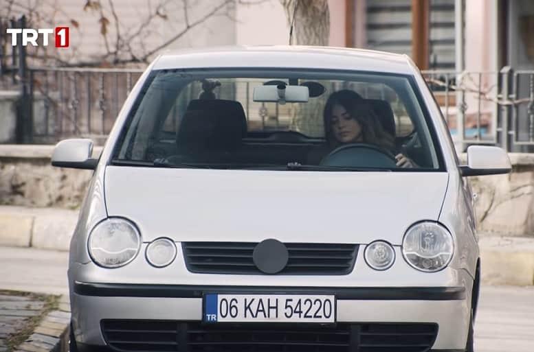 Teşkilat dizisi Cerenin kullandığı araba