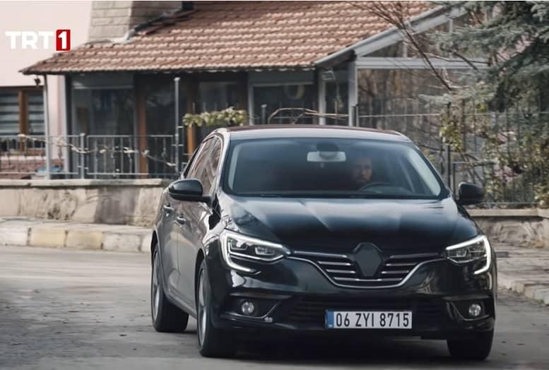 Teşkilat dizisinde Serdarın bindiği araba