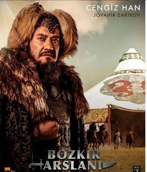 Bozkir Arslani dizisi Cengiz Han kimdir Jovahir Zakirov