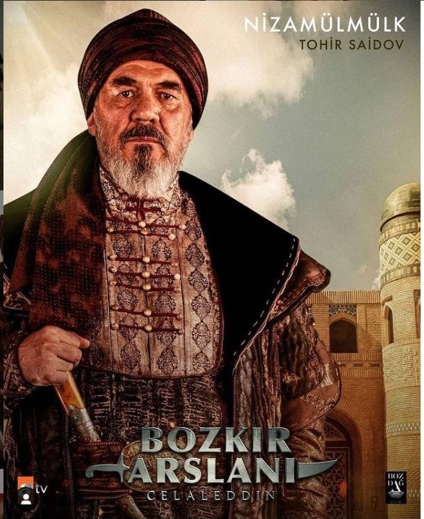 Bozkir arslani dizisi Nizamulmulk Tohir Saidov