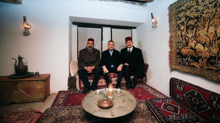 Akif dizisi Ankara ili Güdül ilçesinde çekiliyor